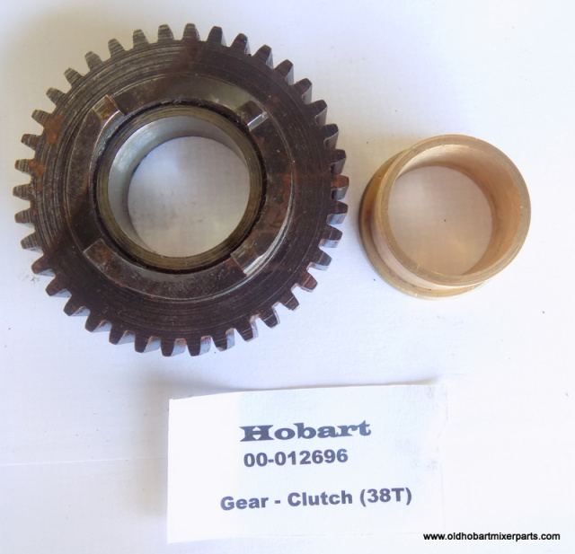 Hobart 00-012696 38-Tooth Clutch Gear Used 00-012695 Clutch Gear Bearing New