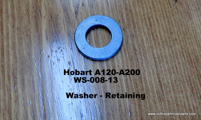 Hobart A120-A200 WS-008-13  Retaining Washer