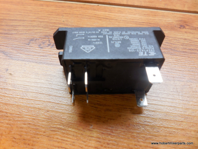 HOBART A-120 TWO POLE 115V RELAY PART NUMBER 00-087714-042-1
