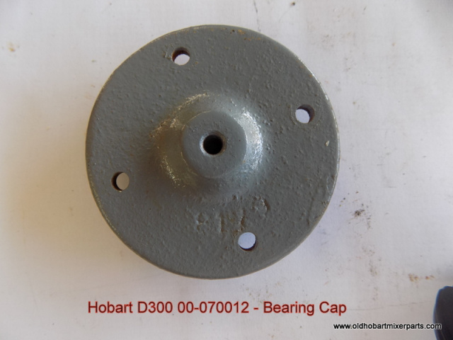 Hobart Mixer D300 00-070012 Bearing Retaining Cap Used