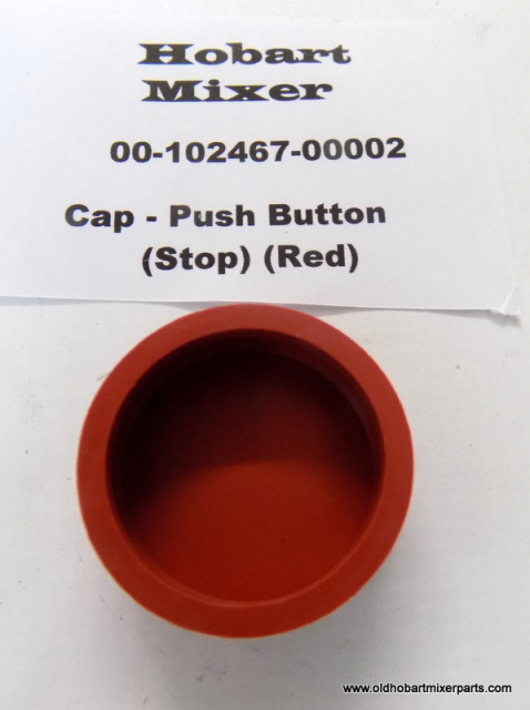 Hobart H600-L800 Mixer Red Stop Button 00-102407-00002