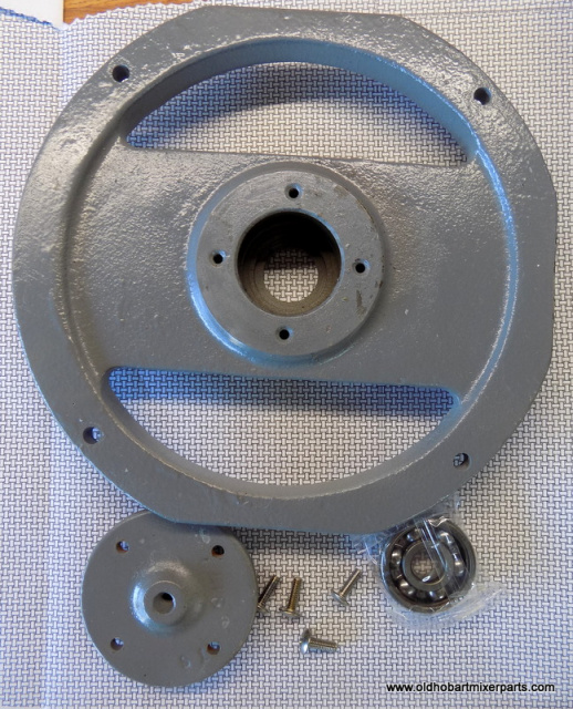 Hobart D300 Mixer 00-068722 Back Bearing Holder Used Comes with New BB-021-25 Ball Bearing 00-070012