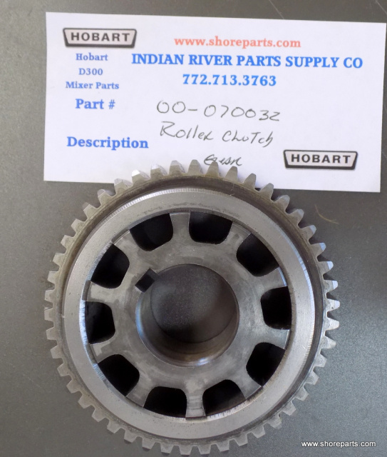 Hobart Mixer D-300 00-070032  46 Tooth Roller Clutch Gear