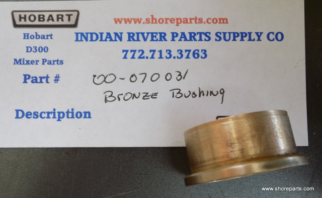 Hobart D300 Mixer 00-070031 Bushing - Lower Clutch Gear Used