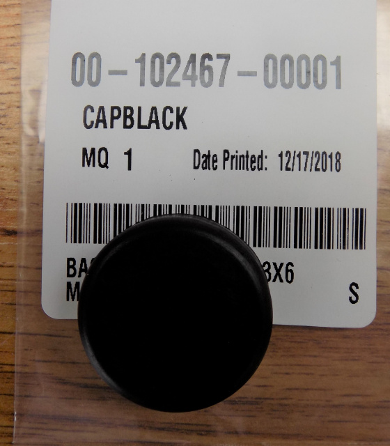 Hobart D300 Mixer Black Start Button 00-102407-00001