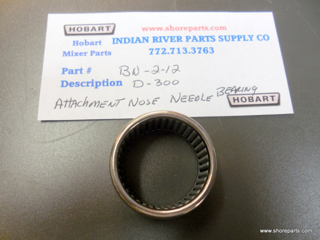 Hobart Mixer D-300 BN-2-12 Attachment Nose Needle Bearing