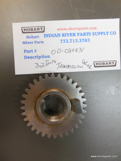 Hobart Mixer D300 00-089831 32 Tooth Transmission Gear Used