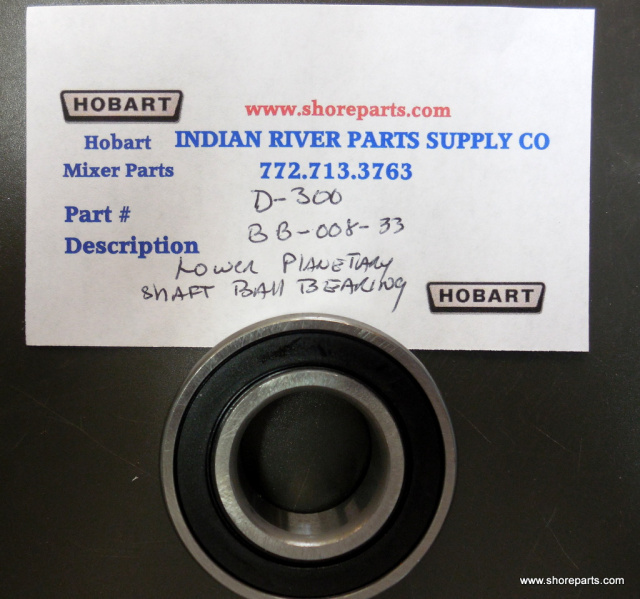 Hobart Mixer D300 BB-008-37 Lower Planetary Shaft Ball Bearing