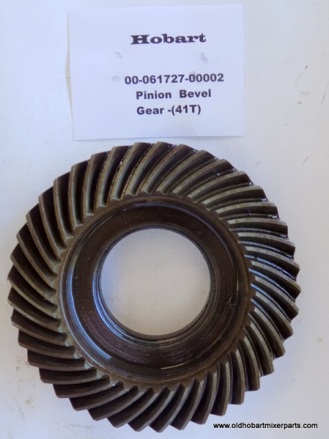 Hobart H600-L800 Mixer 00-061727-00002 Bevel Pinion Gear 41 Tooth Used