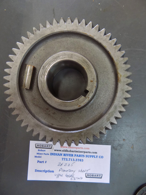 Hobart H600-L800 00-024225 - Upper Planetary Shaft Gear (53T) Used