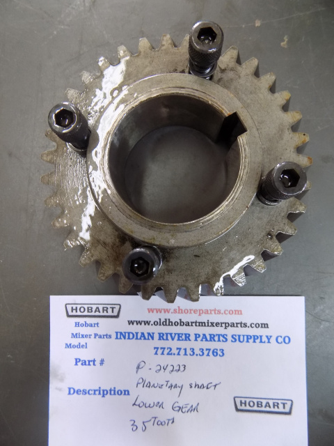 Hobart H600-L800 00-024223 Gear - Planetary Shaft Lower (35T)