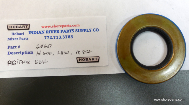 Hobart  H600-L800, M802 Agitator  shaft Seal Part # 00-024651